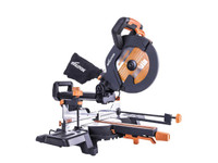 Evolution Pro Multi-Material Sliding Mitre Saw 255mm 1600W 110V | Toolden