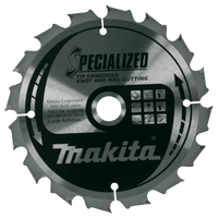 Makita B-09400 185mm x 15.88 Specialized 24T Tip Embedded Blade