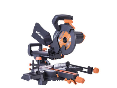 Evolution R210SMS+ 1500w Pro Multi Material Sliding Mitre Saw 110v | Toolden