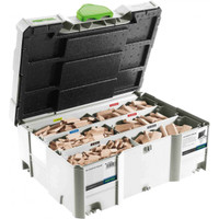 Festool DS 4/5/6/8/10 BU Beechwood Domino 1060 Piece Set | Toolden