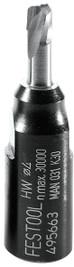 Festool D 4-NL 11 HW-DF 500 4mm x 11mm DOMINO DF 500 Router Cutter Bit