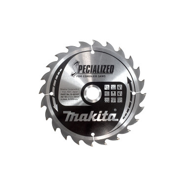 Makita B-09139 SPECIALISED wheel for cordless saw 136mm x 10mm 24T