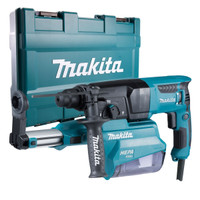 Makita HR2650/2 230v 26mm SDS Plus Rotary Hammer With Dust Collector | Toolden