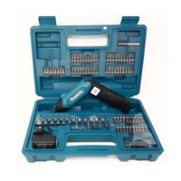 Makita DF001DW 3.6v Pencil Screwdriver and Accessory Bit Set (MAKPDF001DW)