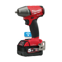 "Milwaukee M18 ONEIWF38-502X Fuel  One Key 3/8"" F Ring Impact Wrench 18V 2 x 5.0Ah Li-Ion"