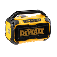 DEWALT DCR011 10.8v/18v/54v Bluetooth Speaker Body Only