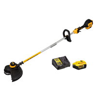 DeWalt DCM561P1S 18v XR Cordless Brushless Split Shaft Trimmer inc 1x 5.0Ah Battery & DCB115 Charger