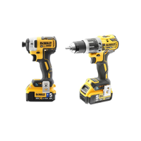 Dewalt DCK2500P2B 18V XR Tool Connect Brushless Combi Hammer Drill Driver and Impact Driver
