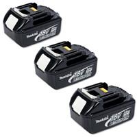 Makita Battery BL1830 18 Volt 3Ah Lithium-Ion - Triple Pack