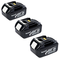 Makita Battery BL1830 18 Volt 3Ah Lithium-Ion - Triple Pack