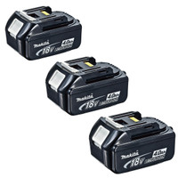 Makita BL1840 18v 4.0Ah LXT Li-Ion Battery Pack of 3