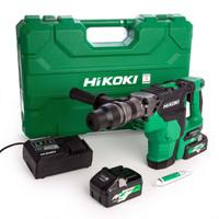 HiKoki DH36DMA/JAZ 36V MultiVolt Brushless Rotary Hammer SDS Max
