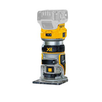 DeWalt DCW604NT 18v XR Li-ion Brushless Cordless Router with Base Body Only (DCW604NT-XJ)