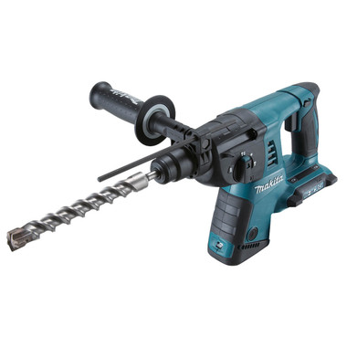 Makita DHR263ZJ 36V Body Only Cordless SDS Plus Li-ion Rotary Hammer in MakPac Case from Toolden.