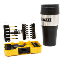 DeWalt DT70736TM FLEXTORQ  32 Piece Screwdriving Bit Set and Mug