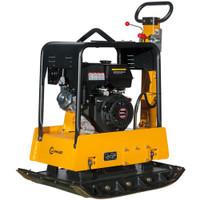 "Lumag RP300 HPCA 38KN 19"" Petrol Fwd / Rev Compactor Wacker Plate | Toolden"