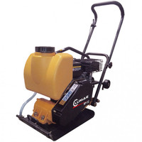 "Lumag RPi12 10.5KN 14"" Petrol Compactor Wacker Plate with Water System 