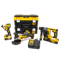 DeWalt DCK305P2T Brushless 3 Piece Kit with 2 x 5.0Ah Batteries