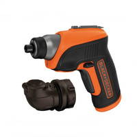 Black & Decker CS3652LC Cordless Screwdriver & Right Angle Attachment 3.6V Li-Ion (B/DCS3652LC)