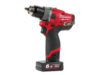 Milwaukee M12 FPD-602X FUEL™ Sub Compact Percussion Drill 12V 2 x 6.0Ah Li-ion (MILM12FPD6)| Toolden