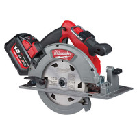 Milwaukee M18 FCS66-121C FUEL™ Circular Saw 18V 1 x 12.0Ah Li-ion (MILM18FCS612)| Toolden