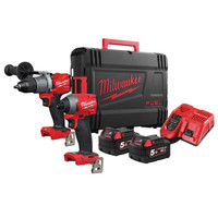 Milwaukee M18 FPP2A2 FUEL™ Gen 3 Twin Pack 18V 2 x 5.0Ah Li-ion (MILM18FPP2A2)| Toolden