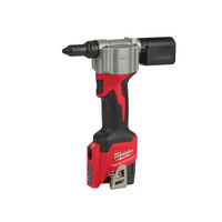 Milwaukee M12 BPRT-201X Pop Rivet Tool Kit 12V 1 x 2.0Ah Li-Ion (MILM12BPRTX)| Toolden