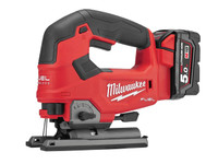 Milwaukee M18 FJS-502X FUEL™ Top Handle Jigsaw 18V 2 x 5.0Ah Li-ion (MILM18FJSKIT)| Toolden