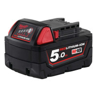 Milwaukee M18 B5 REDLITHIUM-ION™ Slide Battery Pack 18V 5.0Ah Li-Ion