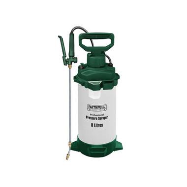 Faithfull Professional Sprayer with Viton® Seals 8L (FAISPRAY8HD)| Toolden