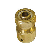 Faithfull Brass Female Hose Connector 12.5mm (1/2in) (FAIHOSEFC)| Toolden