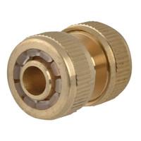 Faithfull Brass Hose Mender 12.5mm (1/2in) (FAIHOSEMEND)| Toolden