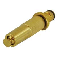 Faithfull Brass Adjustable Spray Nozzle 12.5mm (1/2in) (FAIHOSENOZZ)| Toolden