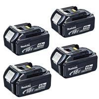 Makita BL1840 18v 4.0Ah LXT Li-Ion Battery Pack of 4
