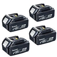 Makita BL1840 18v 4.0Ah LXT Li-Ion Battery Pack of 4 (