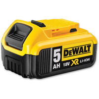 DeWalt DCB184 18v 5.0Ah XR Li-Ion Battery Pack of 4
