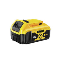 DeWalt DCB182 18v Battery XR Slide 4.0Ah Li-Ion Pack of 4