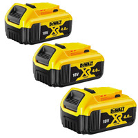 DeWalt DCB182 18v Battery XR Slide 4.0Ah Li-Ion Pack of 3 (DCB182X3)