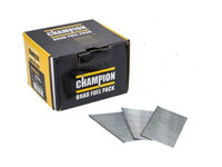 Champion 16G 19mm Straight Galvanised Brad Nails | Toolden