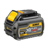 DeWalt DCB546-XJ XR 6.0ah Flexvolt 18/54v Battery