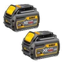 DeWalt DCB546 XR 6.0ah Flexvolt 18/54v Battery - Twin Pack
