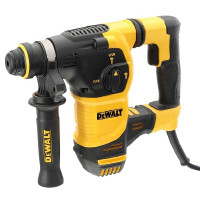 DEWALT D25333K-240V SDS Plus Brushless Hammer Rotary Drill Heavy Kit box