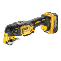 DeWalt DCS355P1-GB 18V XR 5Ah Oscillating Brushless Multi-Tool Kit