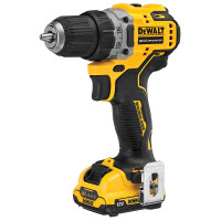 DeWalt DCD701D2-GB 12V Brushless Compact Drill Driver with 2 x 2Ah Batteries