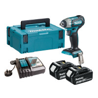 Makita DTW180RMJ 18V 2x4.0Ah LXT 3/8 Brushless Compact Impact Wrench Kit