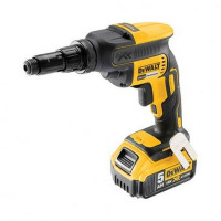 DeWalt DCF622P2-GB 18V Self Drilling Screwdriver Kit with 2x5.0Ah Li-Ion Batteries
