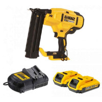 DeWalt DCN680D2-GB 18V XR Brushless Brad Nailer with 2x2.0Ah Li-Ion Batteries