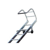 Lyte TRL245 Trade Roof Ladder 4.30m Aluminium 2 Section 17+15 Rung