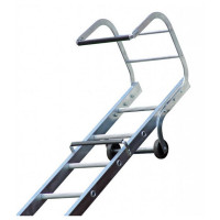 Lyte TRL150 Trade Roof Ladder 4.97m Aluminium Single Section 1x19 Rung