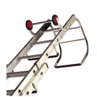 Lyte TRL230 Trade Roof Ladder 2.94m Aluminium 2 Section 11+9 Rung
